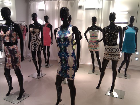 Lipsy SS12 press day: Tribal Tech and Tropical Fever