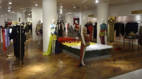Mary Katrantzou SS12 pop up at Selfridges London