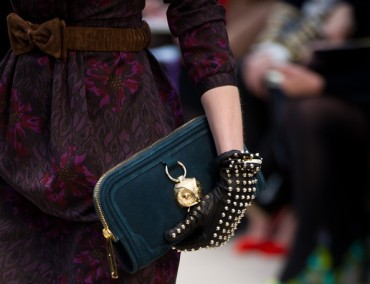 Burberry Prorsum Accessories LFW Runway Show Autumn Winter 2012