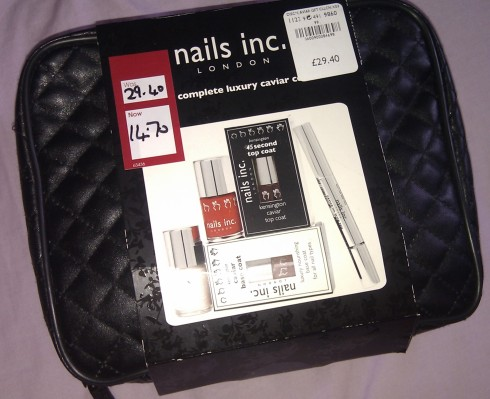 Nails inc Caviar collection set