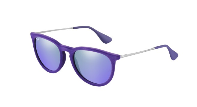 Ray-Ban purple velvet sunglasses