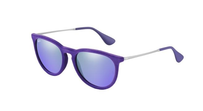 Ray-Ban purple velvet sunglasses