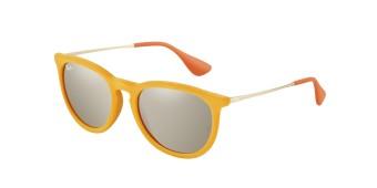 Ray-Ban orange velvet sunglasses