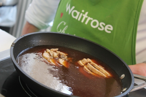 Christmas in July at Waitrose: food