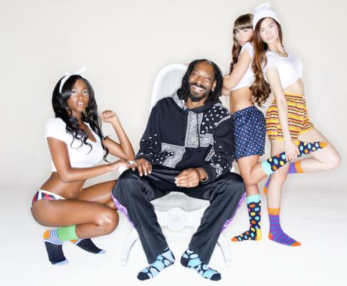 Happy Socks x Snoop Dogg campaign