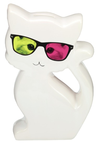 Paperchase Geek Kitty money box